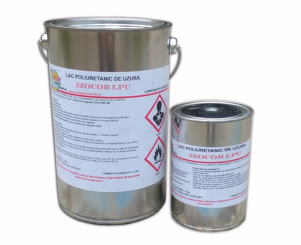 Lac poliuretanic pentru beton cu extra rezistena la uzura IZOCOR LPU, 5 kg Image