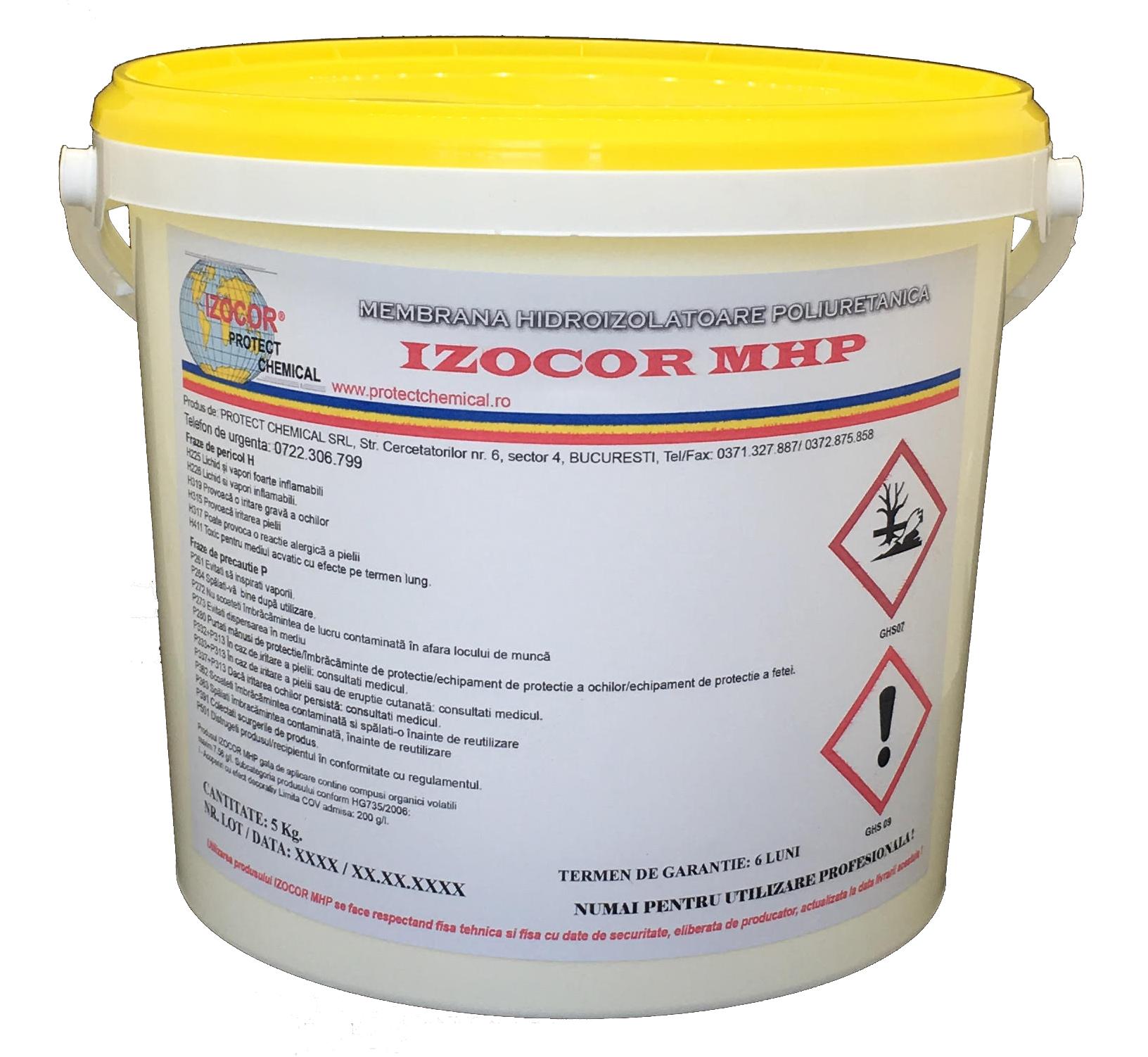 Membrana hidroizolatoare poliuretanica IZOCOR MHP, 5 kg Image